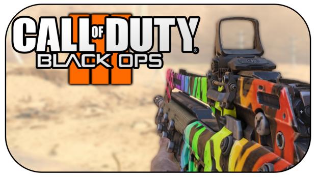Black Ops 3 Rainbow Camo